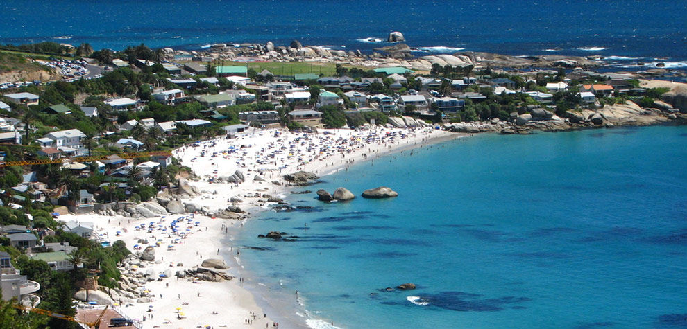 Cape Town Sudafrica clifton-second-beach-great-white