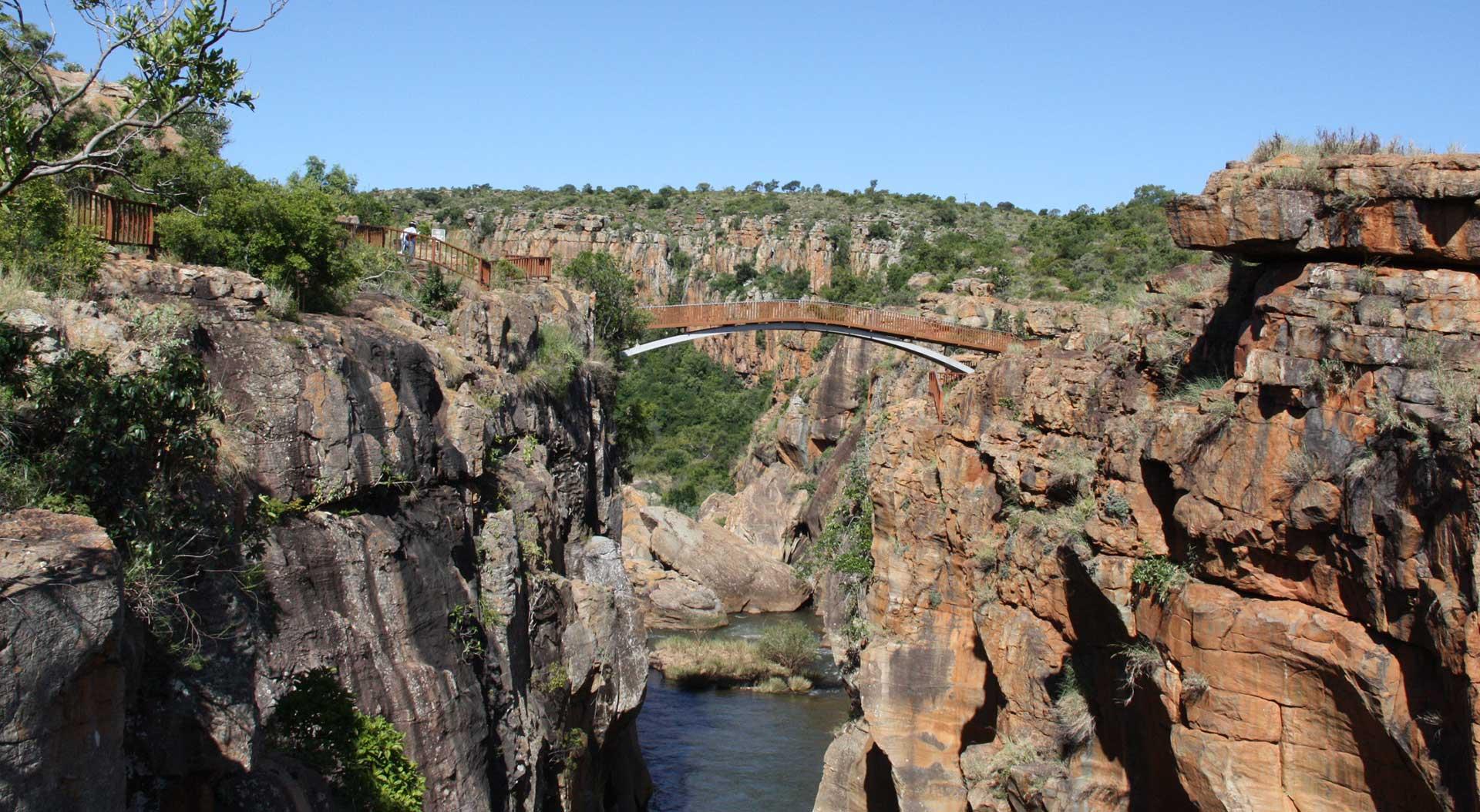 Bourke's Luck Potholes Blyde River Canyon