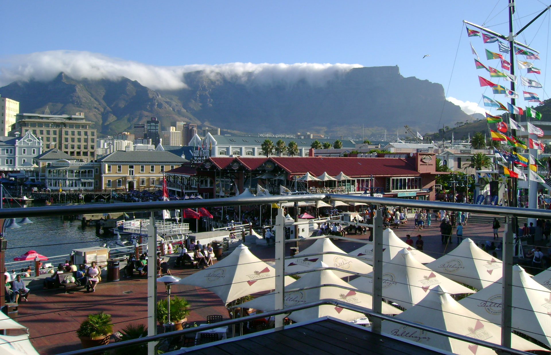 table mountain waterfront