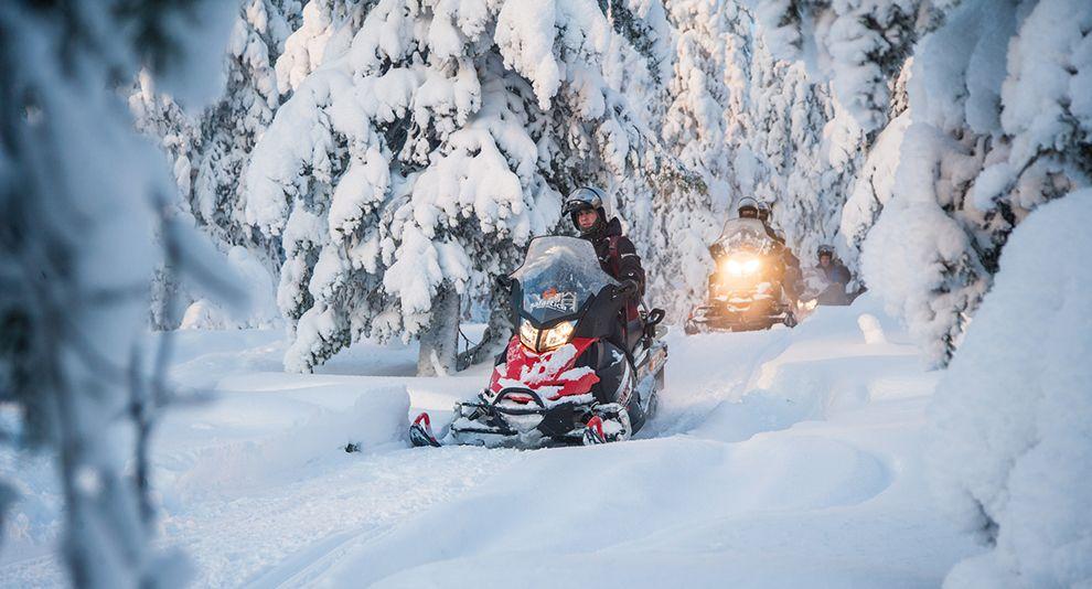 snowmobile ruka-kuusamo